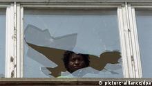 Deutschland Anschlag auf Asylbewerberheim in Hoyerswerda 1991