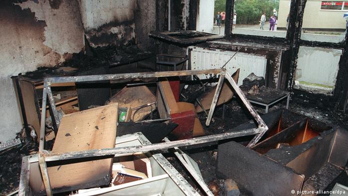 Deutschland Anschlag auf Asylbewerberheim in Rostock-Lichtenhagen 1992