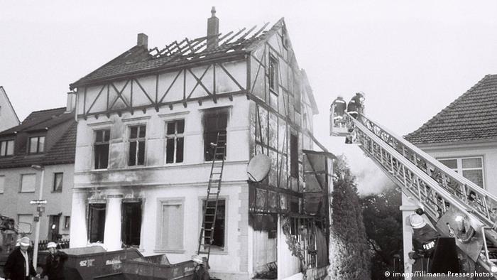 Deutschland Anschlag auf Haus in Solingen 1993