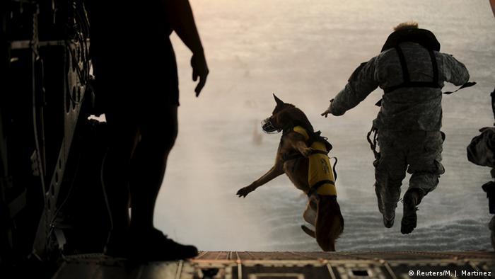 US Spezialkräfte bei einer Übung im Golf von Mexikko