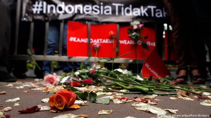 Indonesian police announce arrests of Jakarta terror attack suspects
