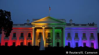 В Беларуси - невозможно: Белый дом в Вашингтоне в годы правления Барака Обамы в радужной подсветке
