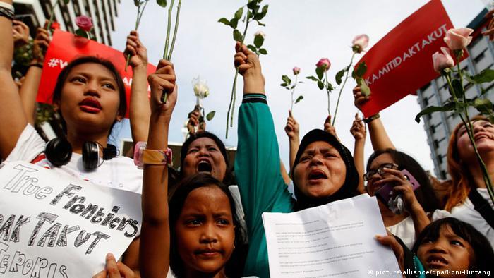 Indonesien Nach den Bombenanschlägen in Jakarta