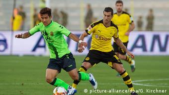 Fußball Testspiel Borussia Dortmund - Jeonbuk Hyundai Motors FC in Dubai