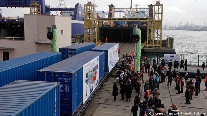 Запуск нового торгового маршруту в порту Іллічівська