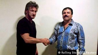 Sean Penn encontra Joaquin Chapo Guzman