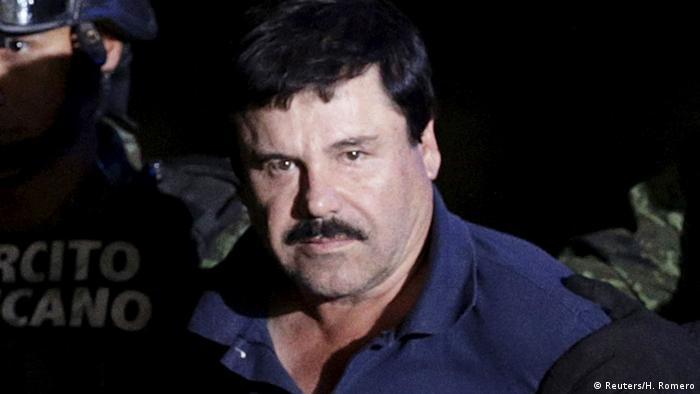 Mexico: Joaquin El Chapo Guzman, chefão das drogas