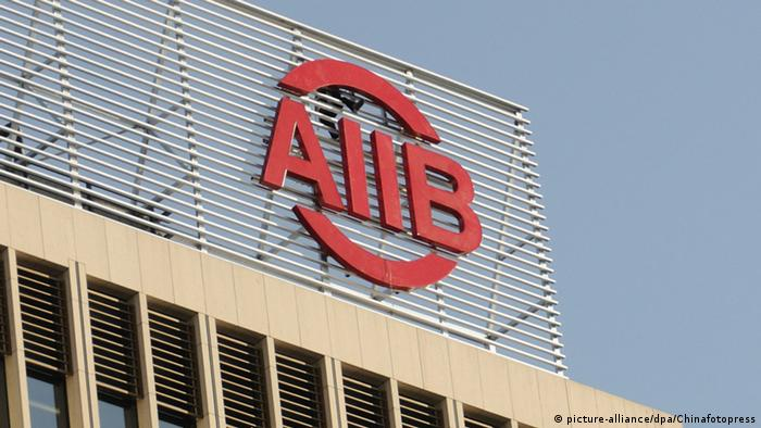 China AIIB Entwicklungsbank Eröffnung