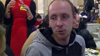 Armenspeisung in Moskau Denis
