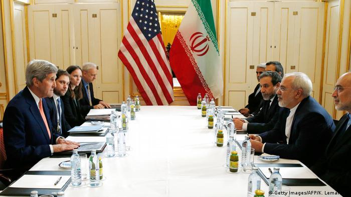 Wien Treffen zwischen Kerry und Zarif