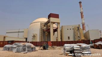 Строительство атомного реактора в Иране