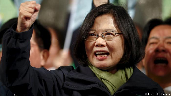 Taiwan Wahl Tsai Ing-wen (Reuters/P. Chuang)