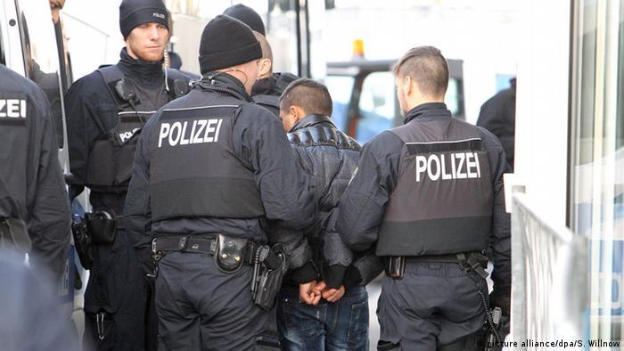 Депортация беженца из Германииi