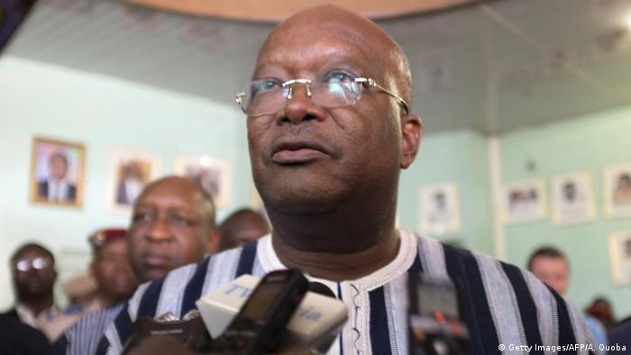 Burkina Faso President Roch Marc Kabore