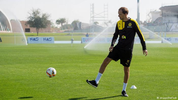 Borussia Dortmund Trainingslager in Dubai