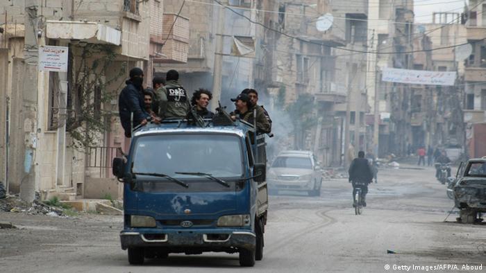 Symbolbild Syrien Deir ez-Zor Kämpfe
