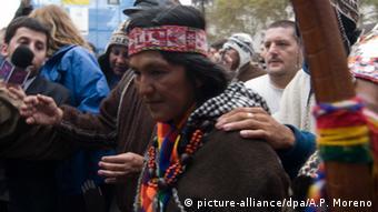 Milagro Sala: controvertida líder del movimiento Tupac Amaru.