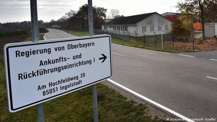 Rückführungseinrichtung für Flüchtlinge in Manching, Bayern (foto: dpa)