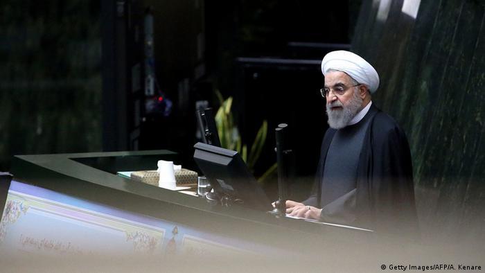 Iran Teheran Rede Hassan Rohani Aufhebung Sanktionen