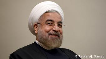 Iran Präsident Hassan Rohani Porträt