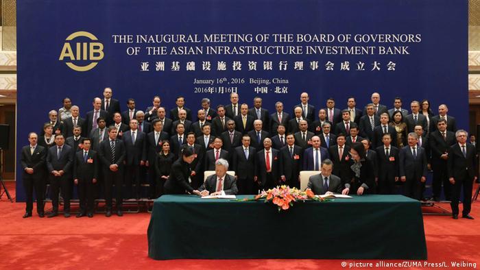 Tras sostener ceremonia de inauguración, la AIIB comenzó a trabajar oficialmente a principios de 2016.