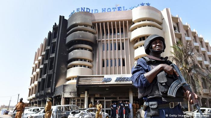 Burkina Faso Anschlag auf Splendid Hotel in Ouagadougou (Getty Images/AFP/I. Sanogo)