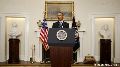 USA Barack Obama PK Iran Nuklear Deal (Reuters/Y. Gripas)