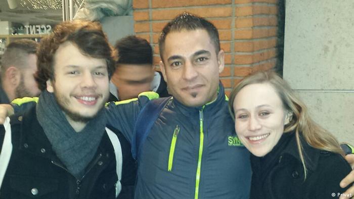 Deutschland Ahmad Mohammad und Caitlin Duncan