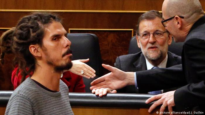 Spanien Alberto Rodriguez und Mariano Rajoy