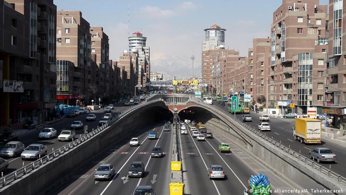 A highway in Teheran