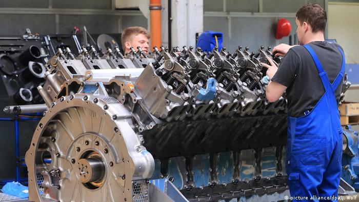 Машиностроительный завод в Магдебурге