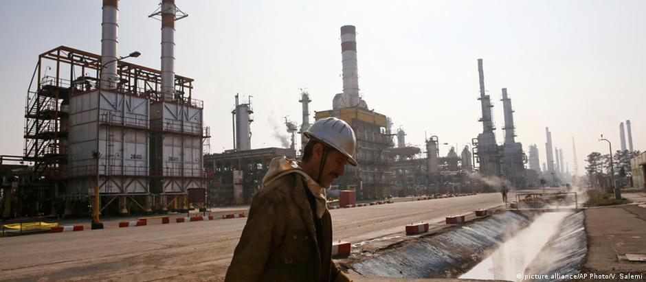 Irã é um dos maiores produtores de petróleo do mundo