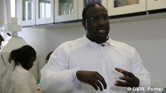 Senegalese scientist Amadou Alhpha Sall