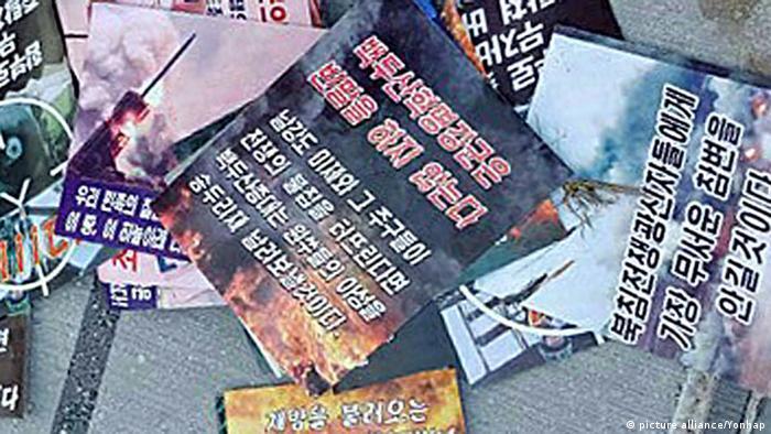 North Korea scatters one million propaganda leaflets over South Korea
