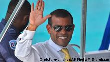 Mohamed Nasheed (picture-alliance/AP Photo/M.Sharuhaan)