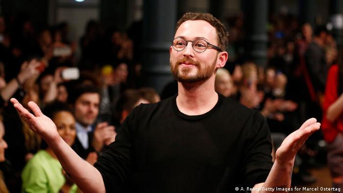 Modedesigner Marcel Ostertag