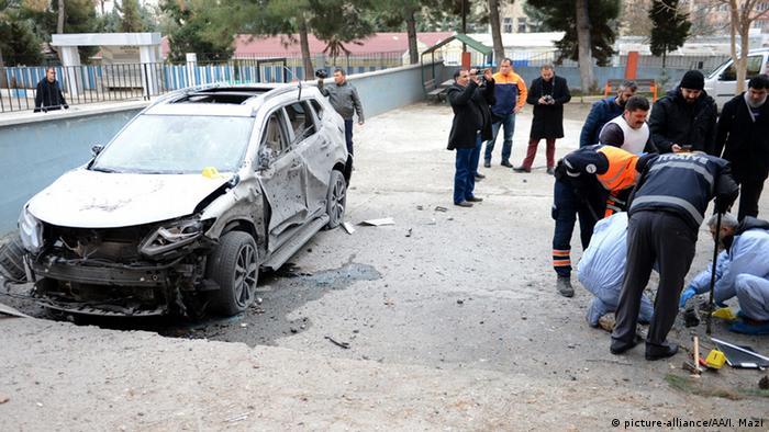 Türkei Explosion in Kilis
