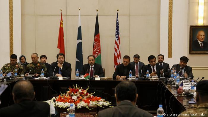 Afghanistan Kabul Friedensgespräche Treffen USA China Afghanistan