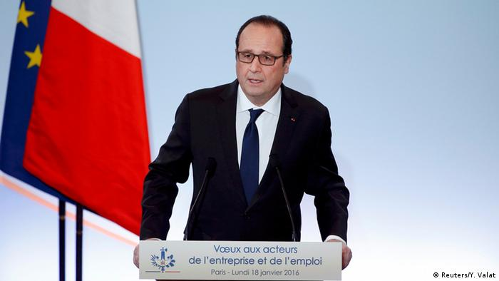 Frankreich Francois Hollande Rede