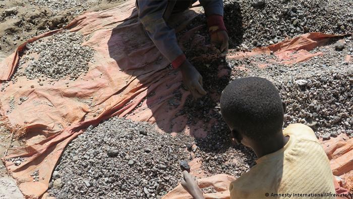 Дитяча праця у Конго