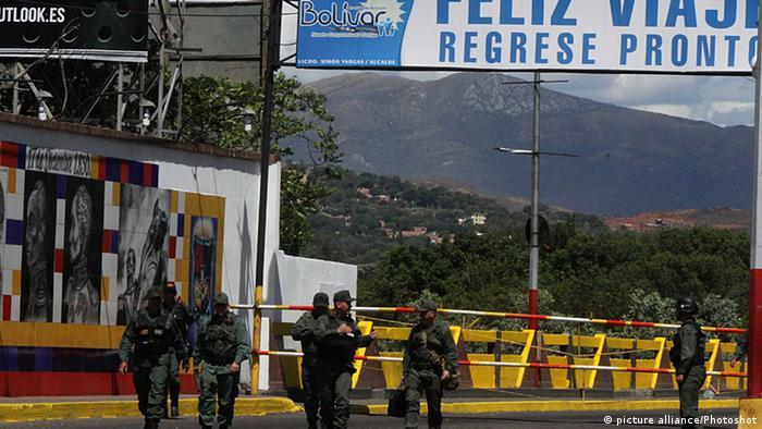 Grenzübergang zwischen Venezuela und Kolumbien