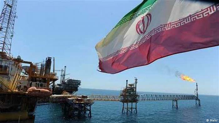 Öl am Persischen Golf.