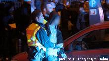 Deutschland, Festnahme an Silvester in Köln
