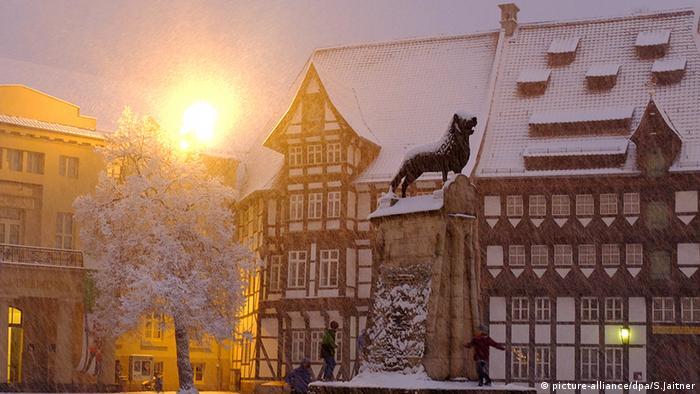 Winter Schnee Braunschweig