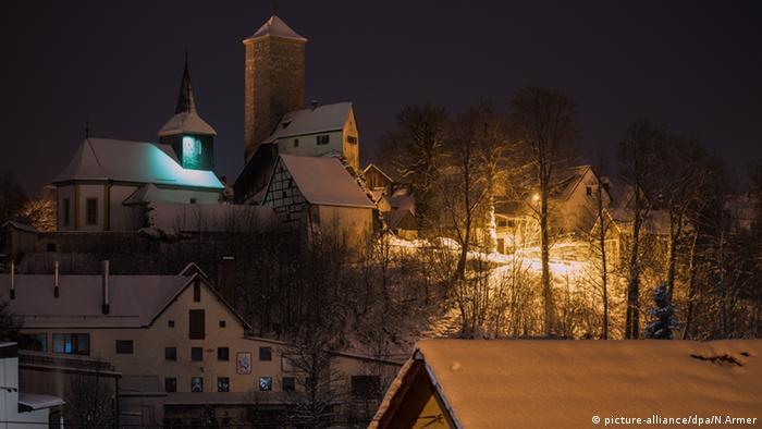Schloss Unteraufseß in Aufseß in Bayern