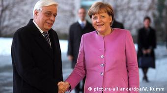 Από τη συνάντηση με την Α. Μέρκελ στο Βερολίνο το 2016