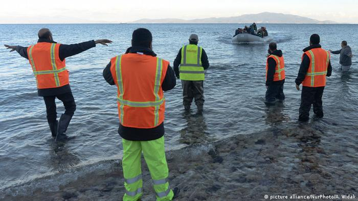 In 2015, some 800,000 migrants and asylum seekers arrived in Greece