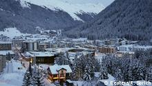 Schweiz Davos Stadtansicht
