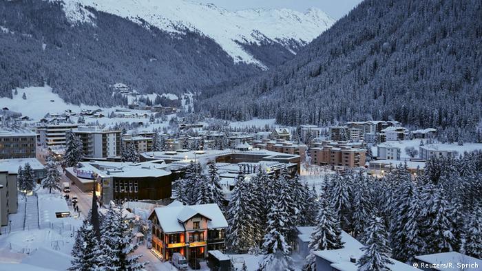 Schweiz Davos Stadtansicht (Reuters/R. Sprich)