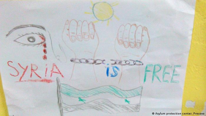 child's drawing Copyright: Asylum protection center, Presovo